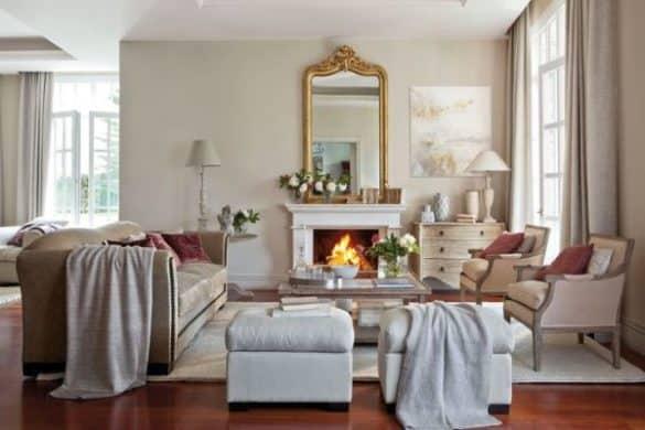 Las mejores ideas para decorar chimeneas de leña