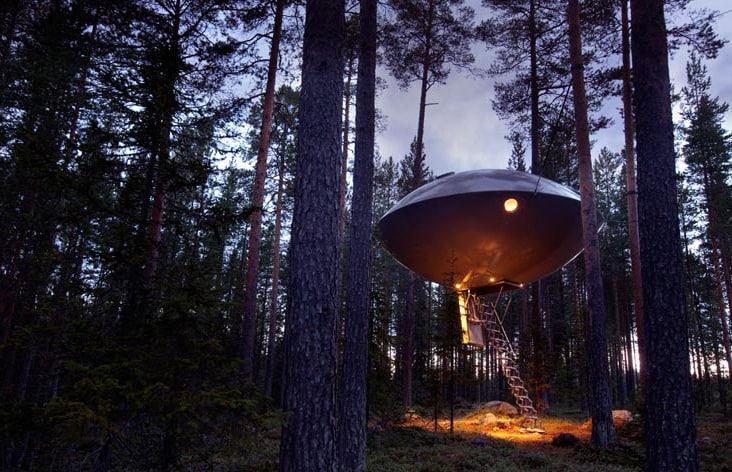 hoteles en los árboles