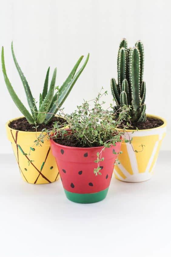 Estas son las mejores ideas para decorar macetas decoracion-jardines Blog Decoracion