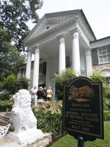 Graceland, la mansión de Elvis Presley