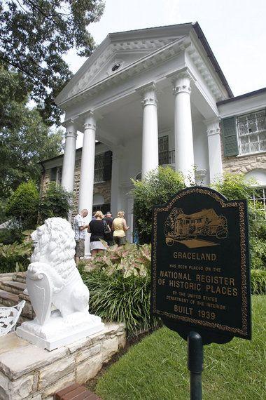 Qué puedes encontrar en Graceland, la mansión de Elvis Presley casas Blog Decoracion