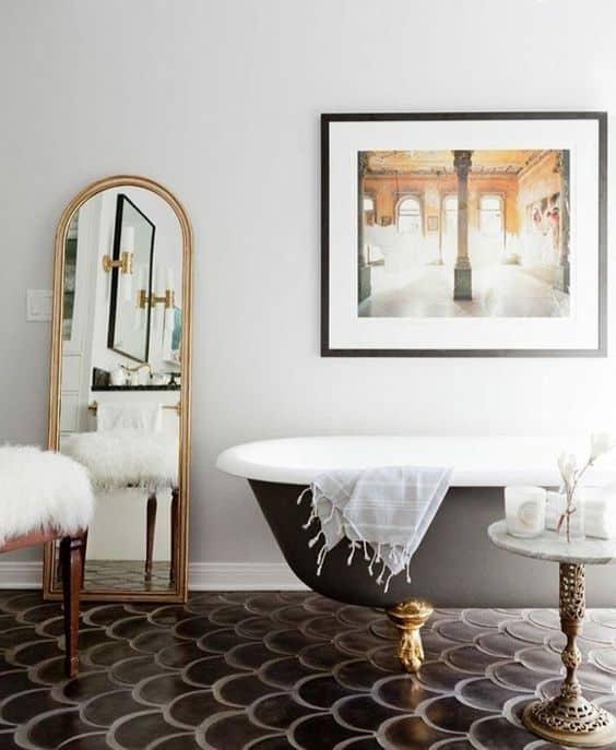 Espejos antiguos en el baño decorar-banos Blog Decoracion