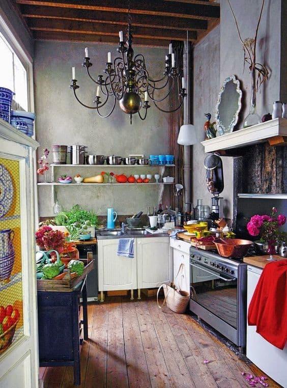 cocina ecléctica