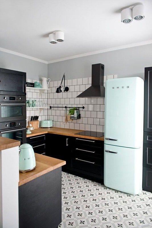 electrodomésticos de colores
