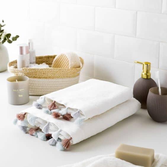 baño textiles