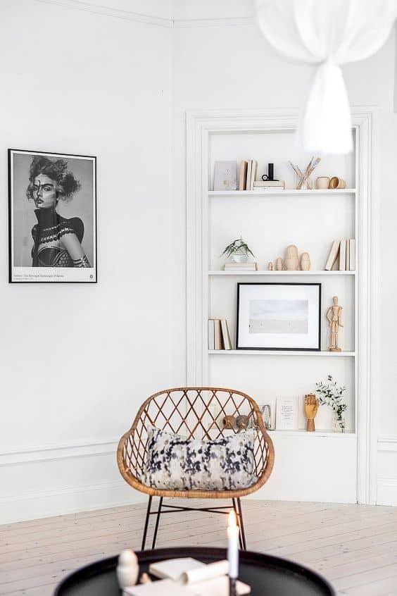 Salón acogedor: cómo decorar con butacas de mimbre decoracion-de-salones Blog Decoracion