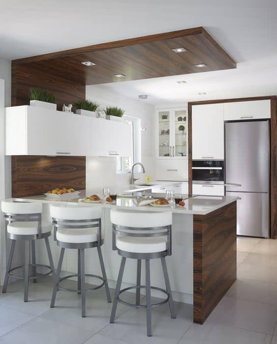 Ideas e inspiración para decorar con una barra en la cocina sin-categoria Blog Decoracion