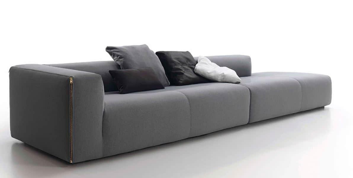 sofás de diseño moderno modulares