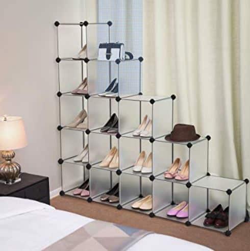 estantería modular zapatos