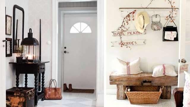 4 ideas para decorar la entrada de tu hogar