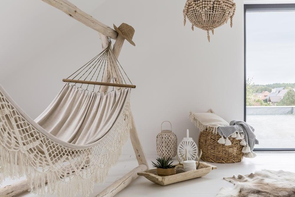 De qué manera ubicar una hamaca colgante dentro del hogar ideas-para-decorar Blog Decoracion