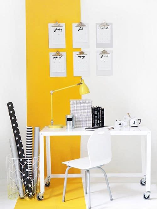 De qué color deberías pintar el espacio de trabajo como-decoracorar-un-despacho Blog Decoracion