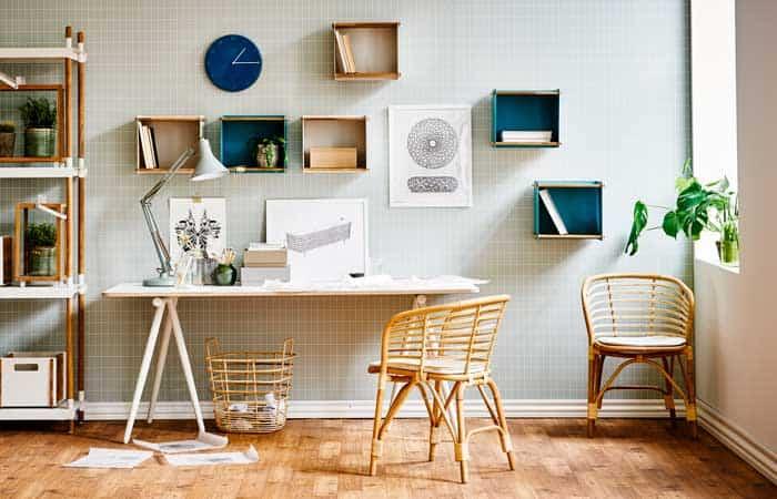De qué color deberías pintar el espacio de trabajo