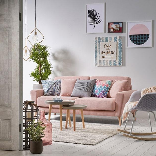 Anímate a un sofá rosa curiosidades-decoracion Blog Decoracion