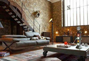 Cómo lograr un estilo urbano en el living de tu casa decoracion-de-salones Blog Decoracion