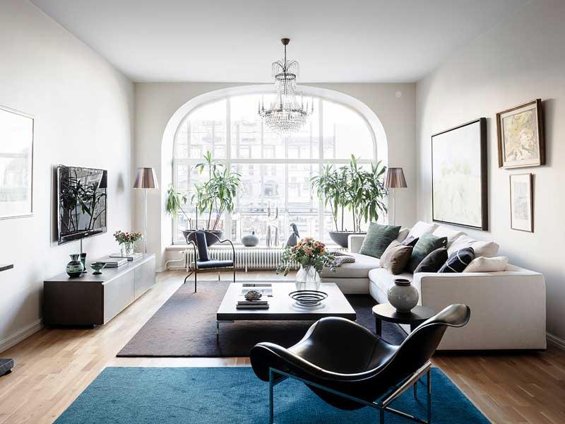 Cómo decorar un salón amplio