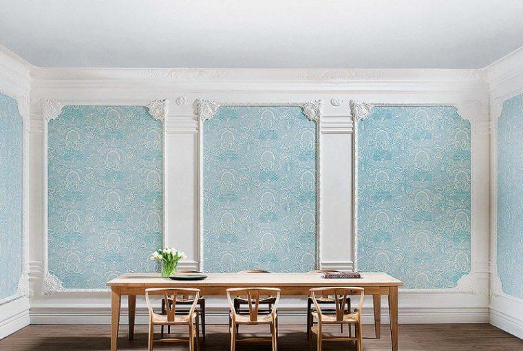 Las molduras en las paredes son la última tendencia deco decoracion-paredes Blog Decoracion