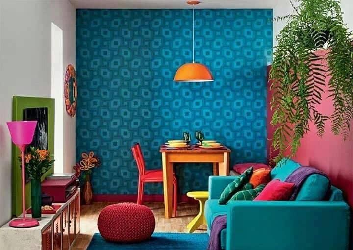 Pasión por los colores, cómo decorar usando tonos vivos ideas-para-decorar Blog Decoracion