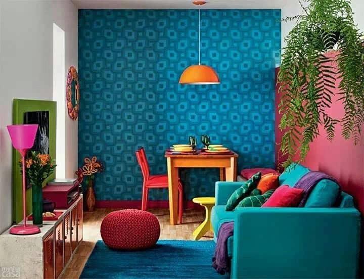 Pasión por los colores, cómo decorar usando tonos vivos