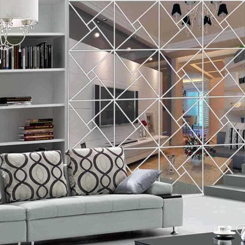 Decorar tu sala con espejos